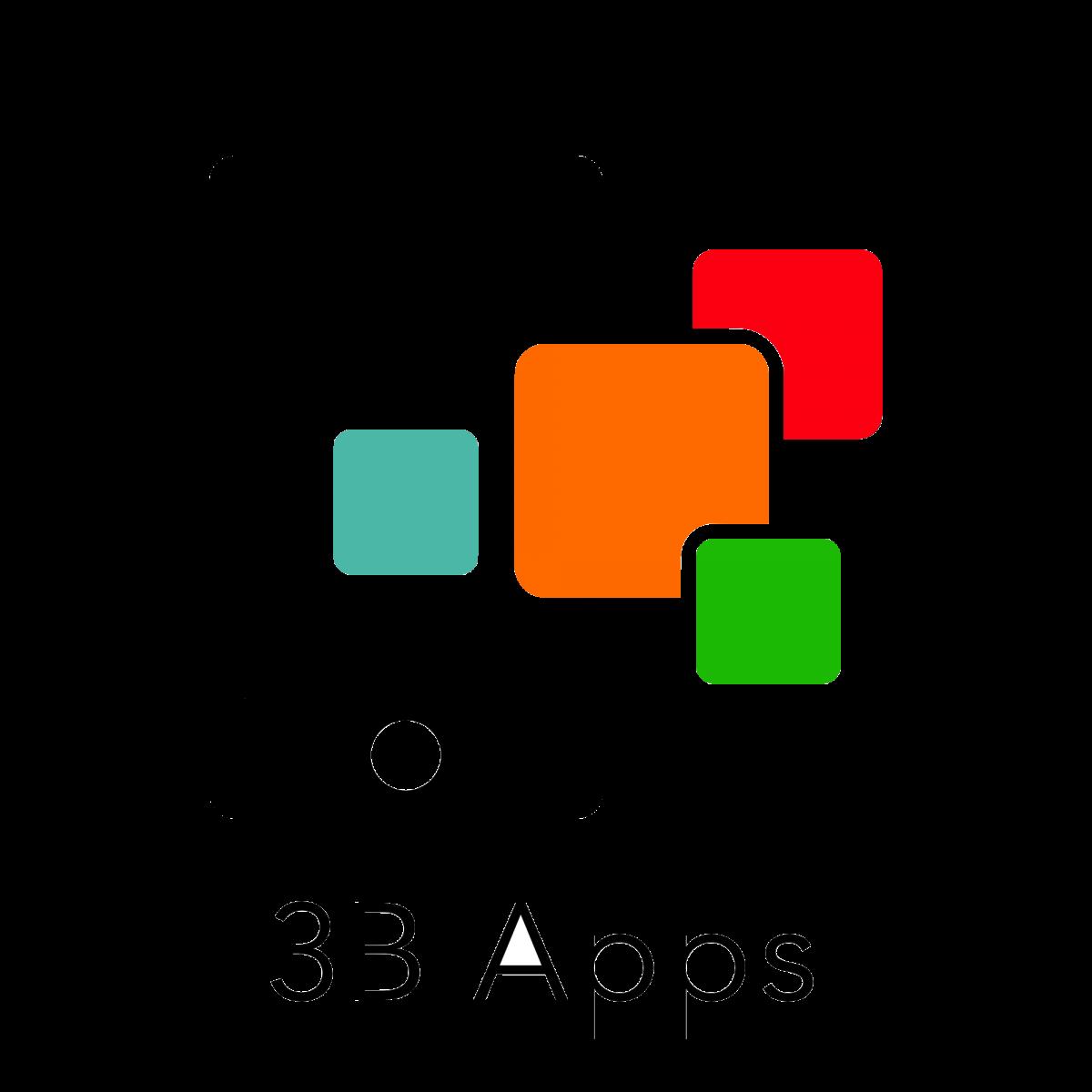 3B Apps Logo