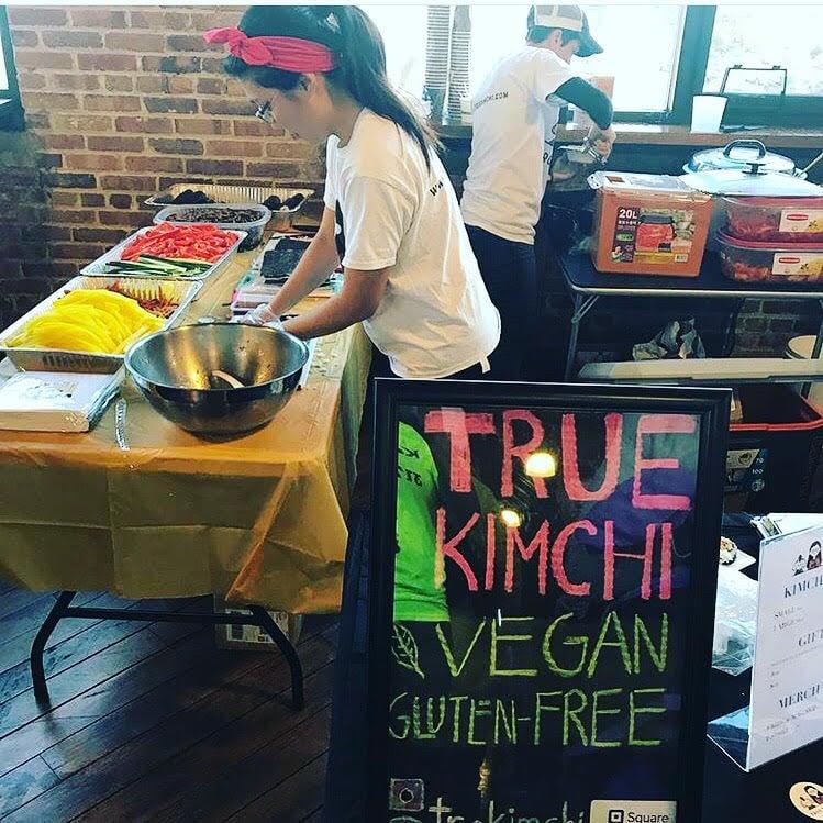 True Kimchi at Indy VegFest