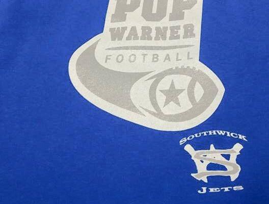 Custom printed shirt for Fort Wayne Pop Warner Football