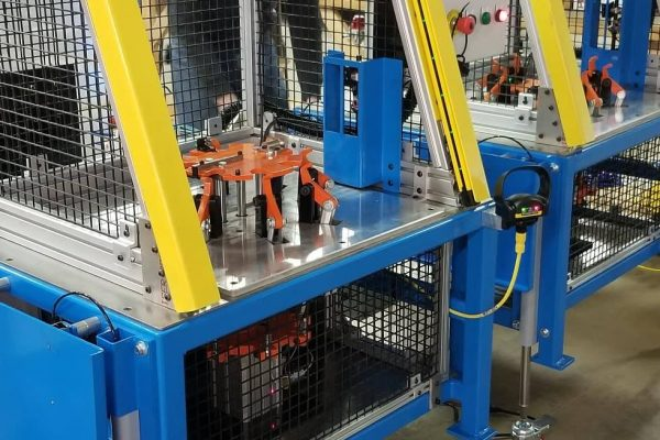 Manufacturing machinery on wheels