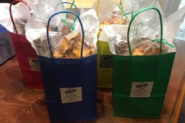 PetWants dog treat gift bags