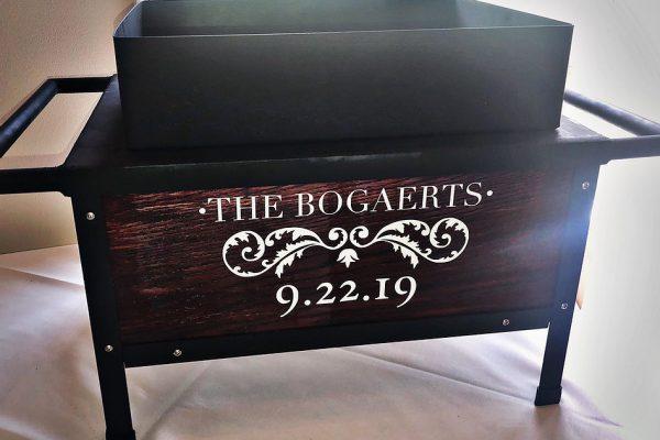 Customer roaster box for the Bogaerts.